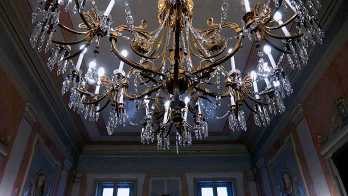 Lámpara Salón Plenos