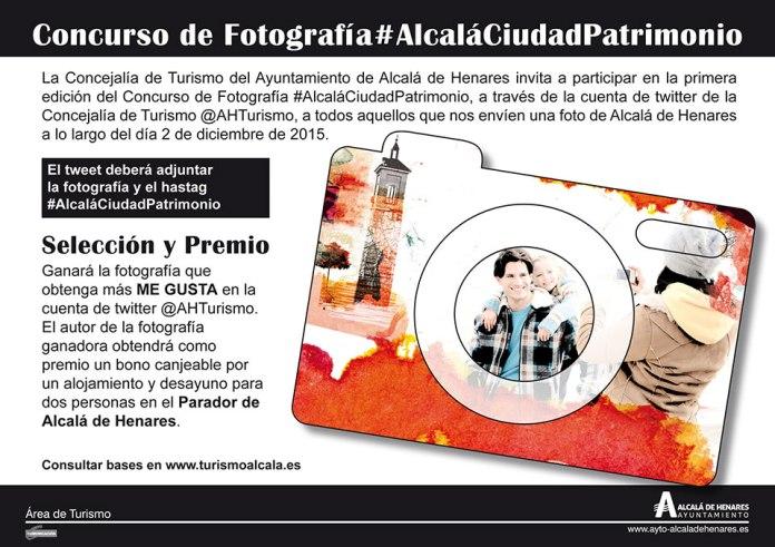 Concurso de Fotografía #AlcaláCiudadPatrimonio