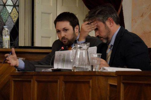 Víctor Chacón, portavoz del grupo poular en el ayuntamiento de Alcalá de Henares