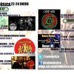 Agenda musical fin de semana del 22 al 24 de enero en Alcalá de Henares