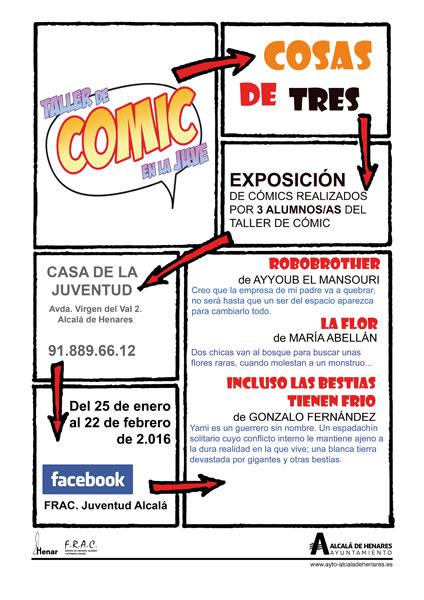Nuevas exposiciones en la Casa de la Juventud de Alcalá de Henares