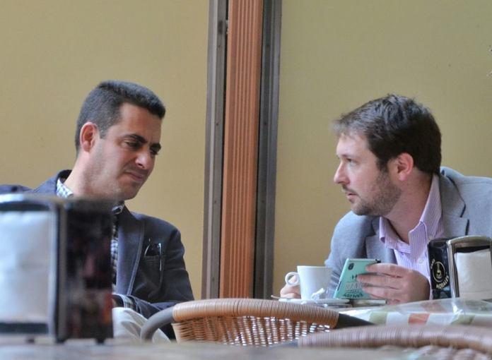 Antonio Naranjo y Victor Chacón