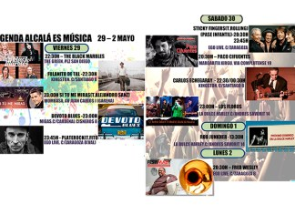 Agenda musical en Alcalá de Henares