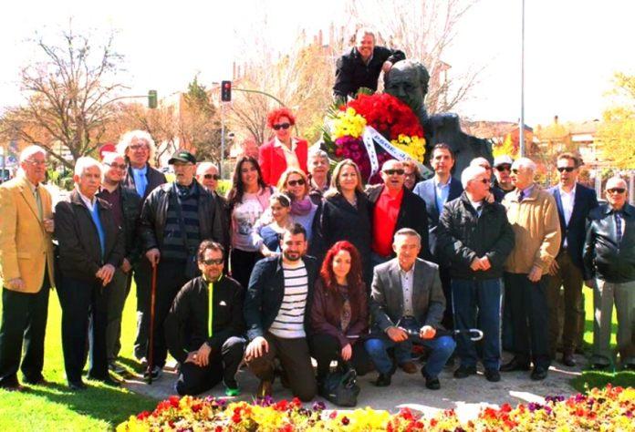 Homenaje a Azaña en Alcalá de Henares