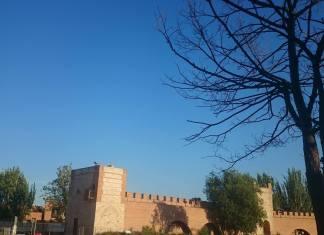Atardecer en la Murallas de Alcalá