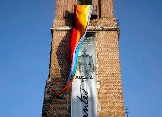 Orgullo gay desde la Torre de Santa Maria