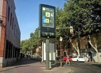 Temperaturas de récord en Alcalá