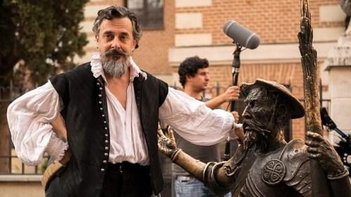 """""""Miguel de Cervantes"""" interpretado por Pere Ponce en El Ministerio del Tiempo. """""""