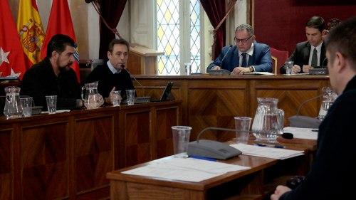 Fernando Fernández Lara defendió la propuesta en el Pleno. Foto de Pedro Enrique Andarelli.