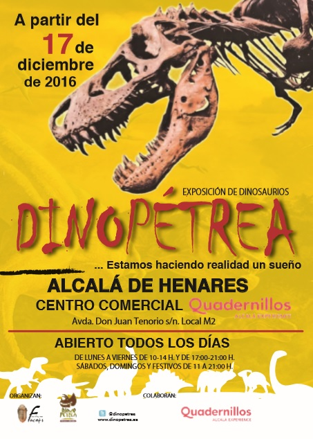 cartel-dinopetrea-alcala-henares-2016-2017