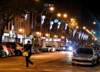 Dias de Navidad en la gran ciudad