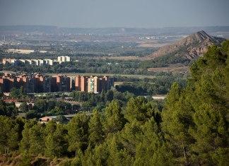 Nueva Alcalá desde el monte Gurugú