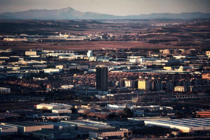 Vistas de la Garena desde el Mirador del Cerro del Viso