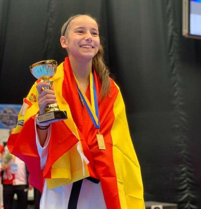 La alcalaina Adriana Cerezo Iglesias, campeona de Europa de Taekwondo |  Alcalá Hoy