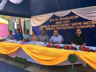 Convivencia Familiar en esta Semana Santa a 90 personas detenidas en Chinandega