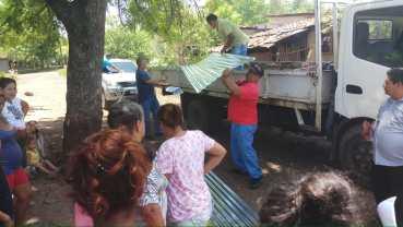 Gobierno municipal da respuesta ante daños por lluvias en comunidad San Lucas