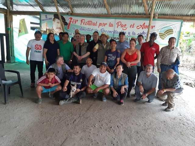 Comunidades de Fe celebran los 10 años de trabajo por la paz en Colombia