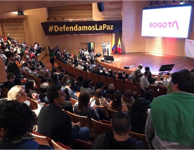 Logros alcanzados en el primer aniversario de Defendamos la Paz