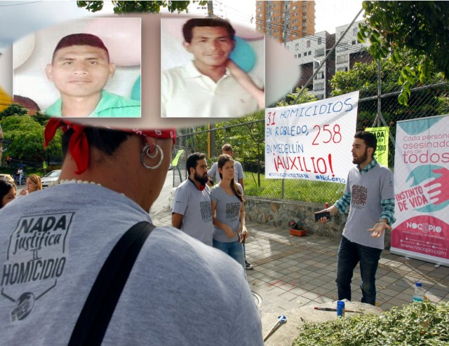 Resultado de imagen de asesinado Miguel Arango, en Medellín.