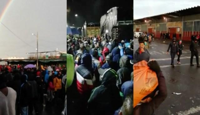 Cierran la central de alimentos más grande de Colombia por protestas