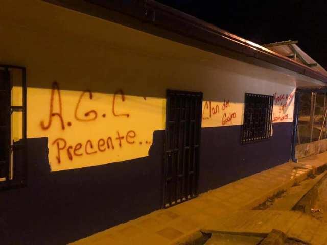Autodefensas gaitanistas amenazan de muerte a población del corregimiento Campo Alegre, Antioquia.