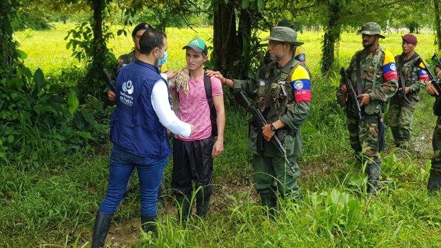 Disidencias de las Farc-ep liberan a joven en el Catatumbo, Norte de Santander