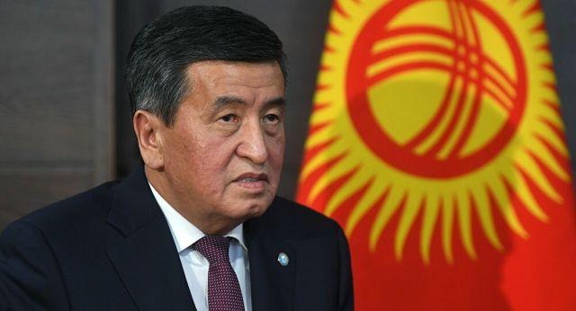 Dimite presidente Sooronbay Jeenbeko de Kirguistán por protestas.