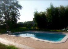 piscina agriturismo 220x160 Laviosuperficie e campo volo di Codroipo in Friuli