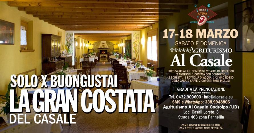 cucina costata bistecca agriturismo al casale codroipo 890x466 La Gran Costata, Agriturismo Al Casale Codroipo   17 18 Marzo
