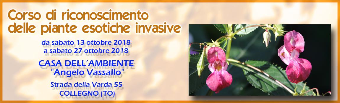 Corso di riconoscimento delle piante esotiche invasive