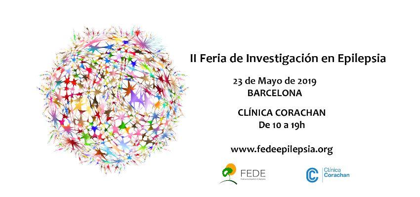 23 de Mayo: II Feria de Investigación en Epilepsia organizada por  la Federación Española de Epilepsia FEDE