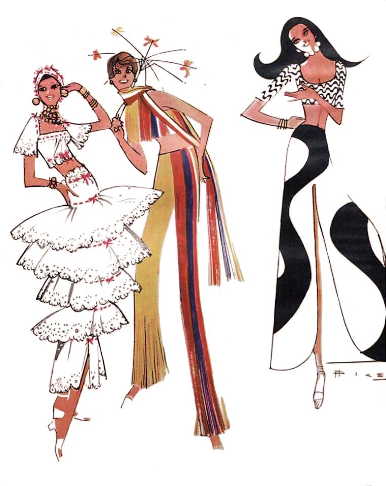 2da8c387b6b10 ... papel na construção da identidade da moda brasileira da forma como a  conhecemos hoje. Antes dele começar a ilustrar as colunas na revista O  Cruzeiro