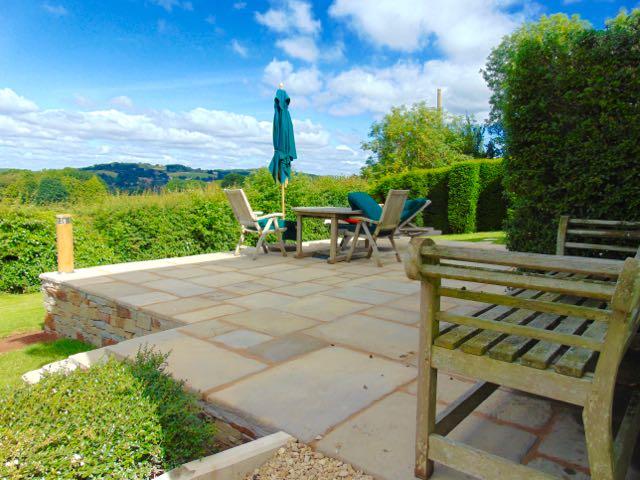 Raised Garden Seating Area