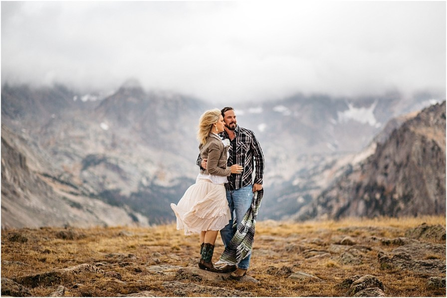 rocky mountain national park photographer | trail ridge road anniversary session