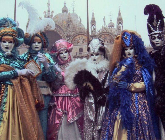 Every Year Around Three Million People Congregate To Italys Famous Canalled City To Celebrate The Carnival Of Venice This Annual Masked Event Started Off