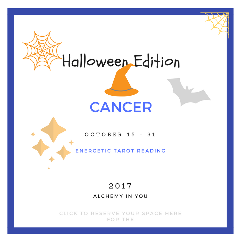 Cancer Mid-Monthly October 2017 (October 15 - 31) Reading