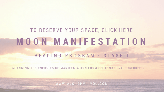 Alchemy in You Moon Manifestation Program