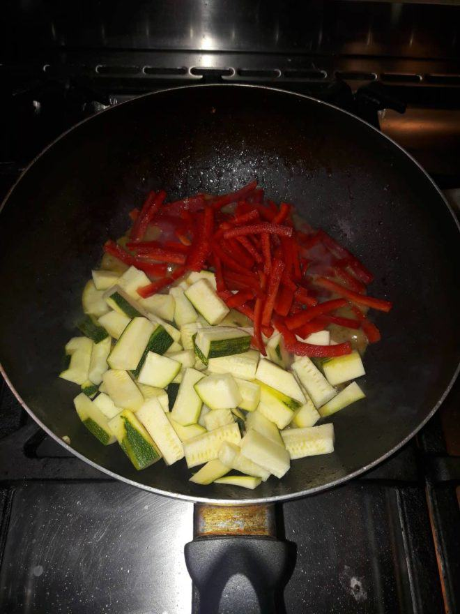 Add your favourite vegetables and cook for 5 more minutes