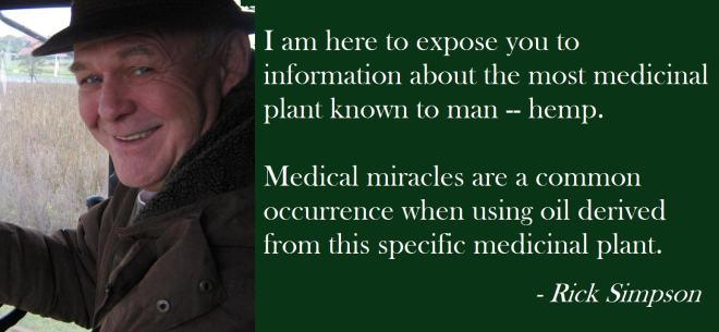 Rick Simpson affirme avoir vaincu son cancer de la peau grâce à son huile de cannabis