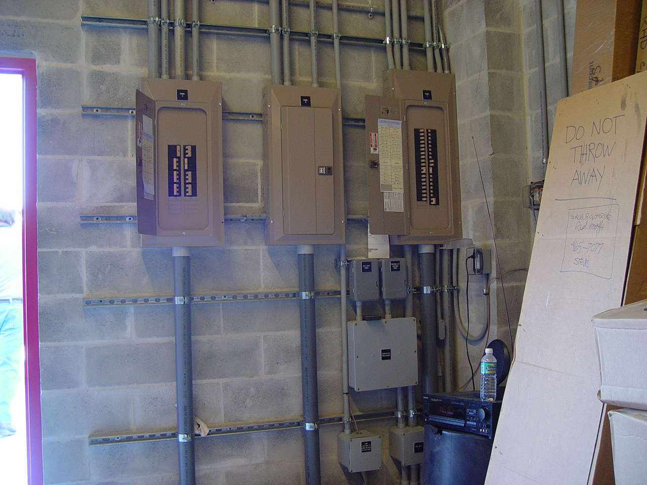 Electrical Sub Panels Conduits Images Commercial