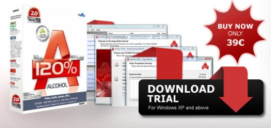 CD and DVD Burning Software - Alcohol Soft copy and virtual drive ...