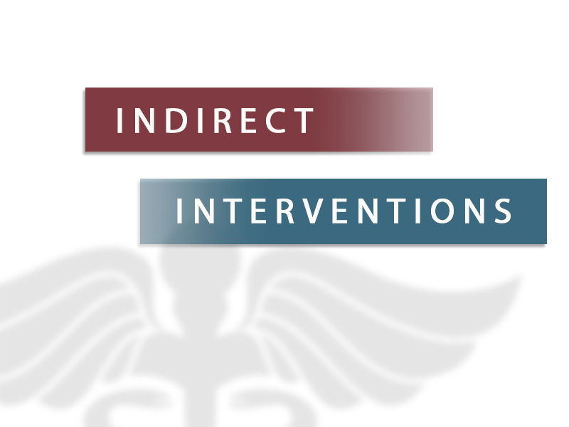 indirect interventions