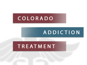 Colorado Addiction Treatment