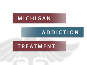 Michigan Addiction Treatment