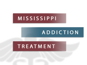Mississippi Addiction Treatment