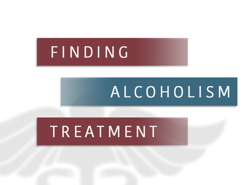 finding alcoholism treatment
