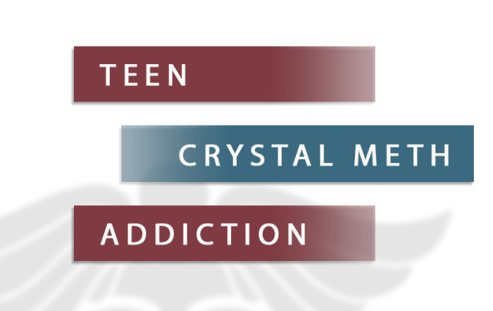 teen crystal meth addiction