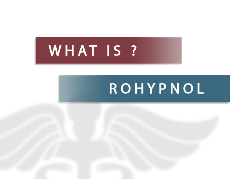 All About Rohypnol