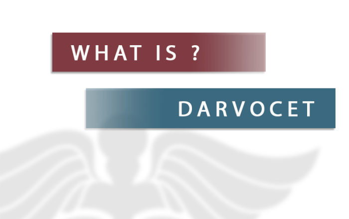 what is darvocet