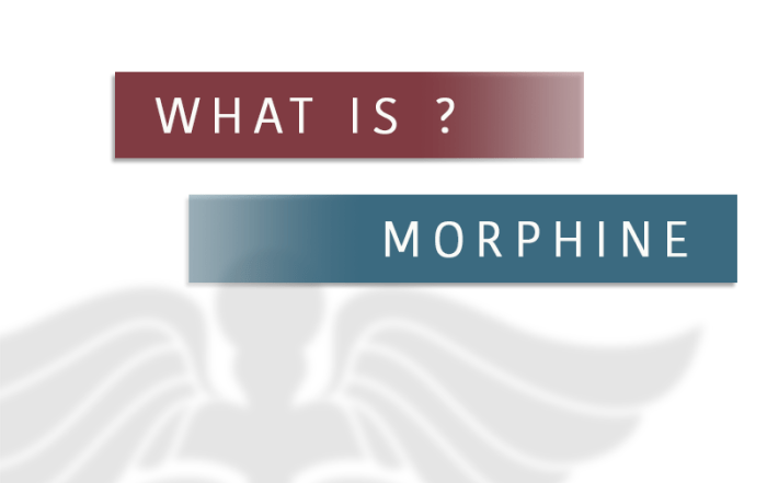 what is morphine